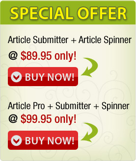 Article Software Special Offer